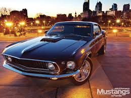 Mustang Mach One 1969 Ford Mustang Mach 1 All Grown Up Modified Mustangs