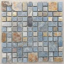 multicolor slate mosaic tiles slate mosaic tiles pinterest