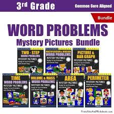 3rd grade perimeter word problems worksheets printables