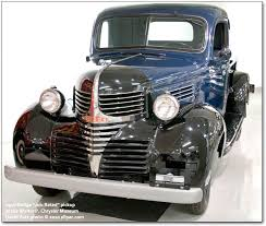 dodge trucks through the years history of the dodge trucks 1921 1953