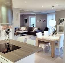 deco cuisine moderne deco salon cuisine ouverte idées décoration intérieure