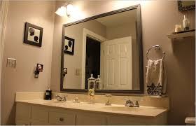 Bathrooms Mirrors Ideas by Framed Bathroom Mirrors Ideas Doherty House Hang A Framed