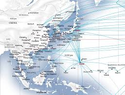 united airlines hubs united in the pacific how us based united established itself in