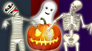 halloween ghost pumpkin halloween finger family collection with skeleton mummy pumpkin