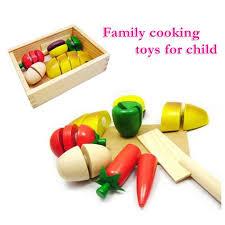 jouets cuisine jouets cuisine fruits et légumes en bois coupe velcro découpage