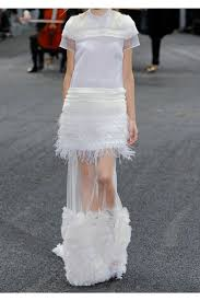 White Tulle Maxi Skirt