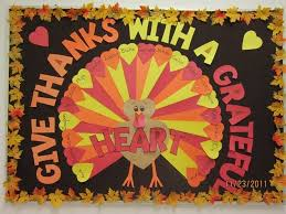 give thanks with a grateful bulletin board each students