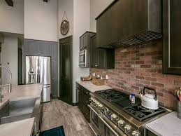 backsplash for kitchens 47 brick kitchen design ideas tile backsplash accent walls