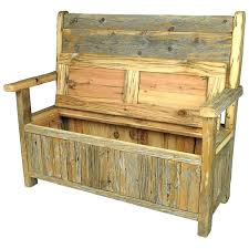 Storage Bench Seat Wooden Bench Seat With Storage Bench The Reclaimed Wood