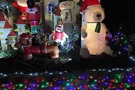 map of christmas lights