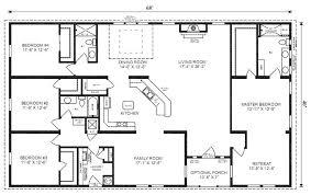 house floor plans ranch 4 bedroom rectangular house plans www redglobalmx org