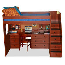 Full Size Bunk Bed With Desk Underneath Full Size Bunk Bed With Desk Home Design Ideas