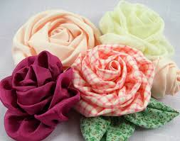 fabric flowers mixed fabric flower tutorials 1 includes 3 fabric flowers
