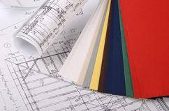 blueprint home paint color palette stock images 169 photos
