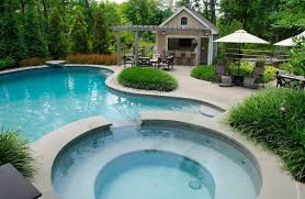 pool cabana ideas pool cabana ideas traditional with outdoor dining hot tub steps