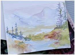 painting greeting cards in watercolor card invitation design ideas watercolor greeting cards rectangle