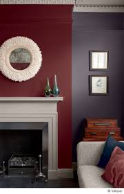 gray and burgundy living room this mix of colors and textures makes for a cozyfortable room