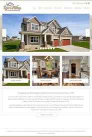 yorway custom home builders mankato web design