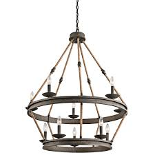 Country Dining Room Lighting by Chandelier Dining Room Lighting Chandeliers Kichler Pendant