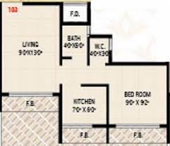 520 Sq Ft Today Sai Vrindavan In Karanjade Mumbai Flats For Sale In Today