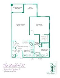 bradford floor plan floor plans for glen eddy senior apartments u0026 cottages 1 u0026 2 bedroom