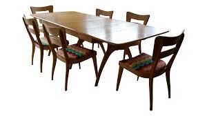 heywood wakefield mid century wishbone dining set chairish