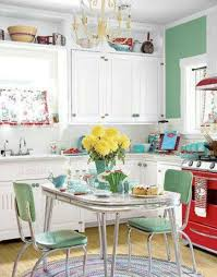 vintage kitchen decorating ideas retro style kitchen decoration ideas decoration