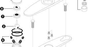 kitchen faucet replacement parts kitchen faucet tub faucet parts acceptable american standard