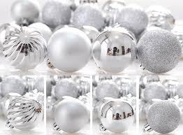 amazon com ki store 24ct christmas ball ornaments shatterproof