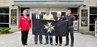 Johns Flag Flag Raising At Town Hall Honours 76 Years Of St John Ambulance