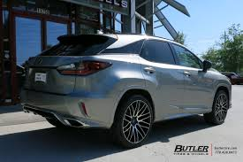 lexus rx wheels and tires lexus rx with 22in savini bm13 wheels exclusively from butler
