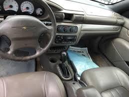 2003 Chrysler Sebring Interior 2003 Chrysler Sebring Gtc 2dr Convertible In Houston Tx Auto