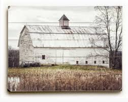 Barn Wall Decor Wood Sign Country Home Decor Fence Wood Print Golden