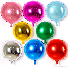 helium birthday balloons 18inch solid color foil balloon birthday wedding party