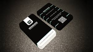corporate black u0026 white with business card template llustrator cc