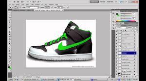 shoe design software custom shoe design photoshop ep1