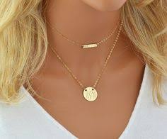tiny monogram necklace custom monogram necklace initial necklace monogram chain