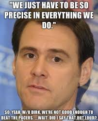 Pacers Meme - mavs pacers post game 37 quotes a bad combination mavs moneyball