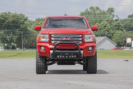 truck gmc 6in suspension lift kit for 2015 2018 4wd chevy colorado gmc