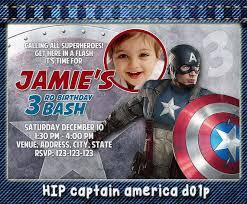 captain america invitation card 100 images captain america