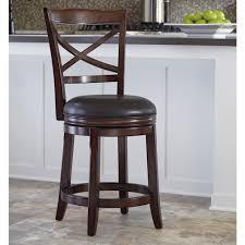 ashley furniture porter counter height x back upholstered swivel