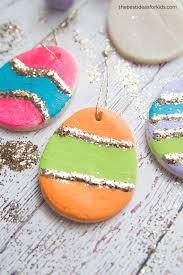 easter egg ornaments salt dough easter eggs the best ideas for kids