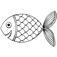 fish coloring pages clip art library