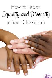 how to teach equality and diversity in your classroom equality