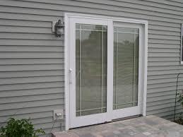 blinds between glass sliding glass door blinds diy plus large