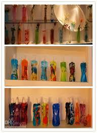 Bag Vase Pvc Vase Foldable Vase Opp Bag Eco Friendly Diy Flower Mix Size
