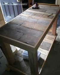 new rustic timber kitchen island bench granite table work bench