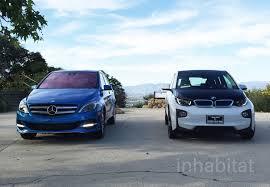 mercedes a class vs b class test drive bmw i3 vs mercedes b class electric which