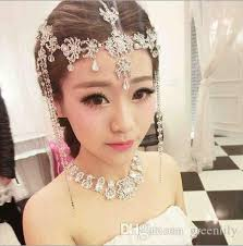 bridal hair jewelry accessories decoration band hair