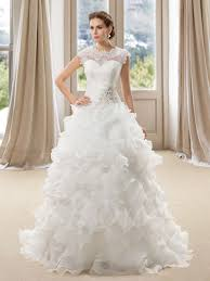 wedding dress with beading lace appliques tiered beading button wedding dress tbdress com